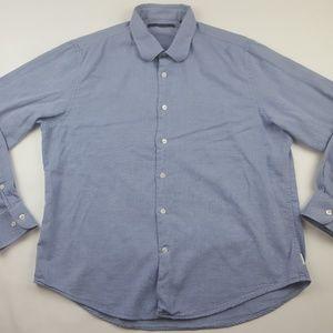 Perry Ellis Men's Long Sleeve Button Shirt